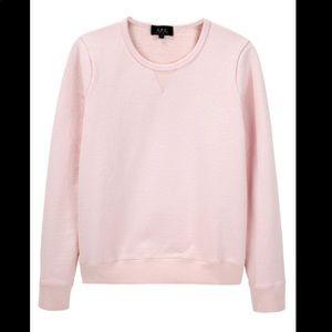 APC light pink crewneck sweatshirt S B5